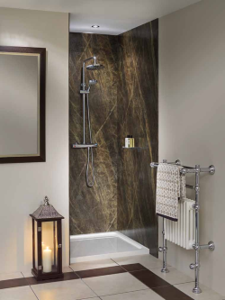 Nuance Radiance Panels Sequoia Slate Display  Nuance Bathroom Beauteous Waterproof Wall Panels For Bathrooms Design Inspiration