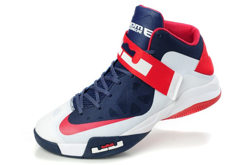 online store 9d939 81cda ... Nike Shoes Online. Lebron Soldier VI Hyperfuse Navy White University Red  207887 005