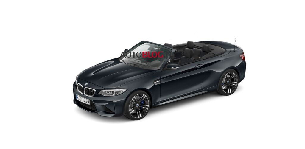 These Images Allegedly Show The Bmw M2 Convertible Bmw M2 Bmw