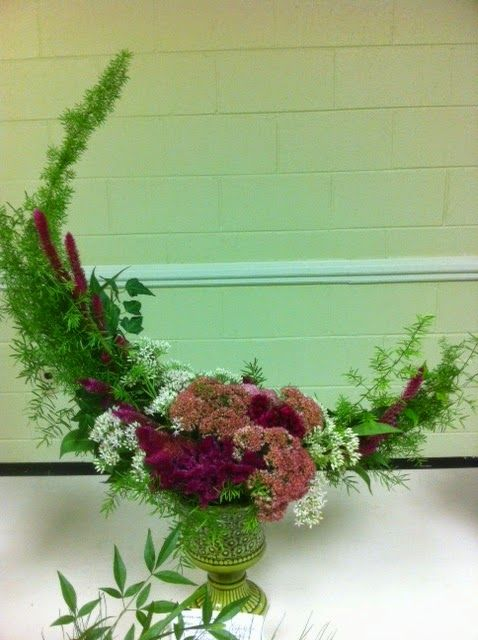 Crescent Floral Design Flower Arrangement Gardenclubjournal
