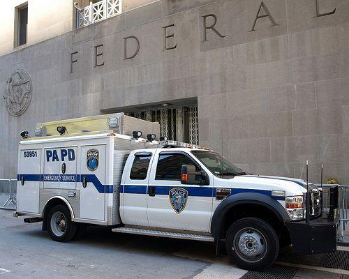 papd port authority emergency service unit truck world. Black Bedroom Furniture Sets. Home Design Ideas