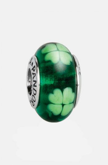df4ac52f4 PANDORA 'Irish' Murano Glass Charm available at #Nordstrom | My ...