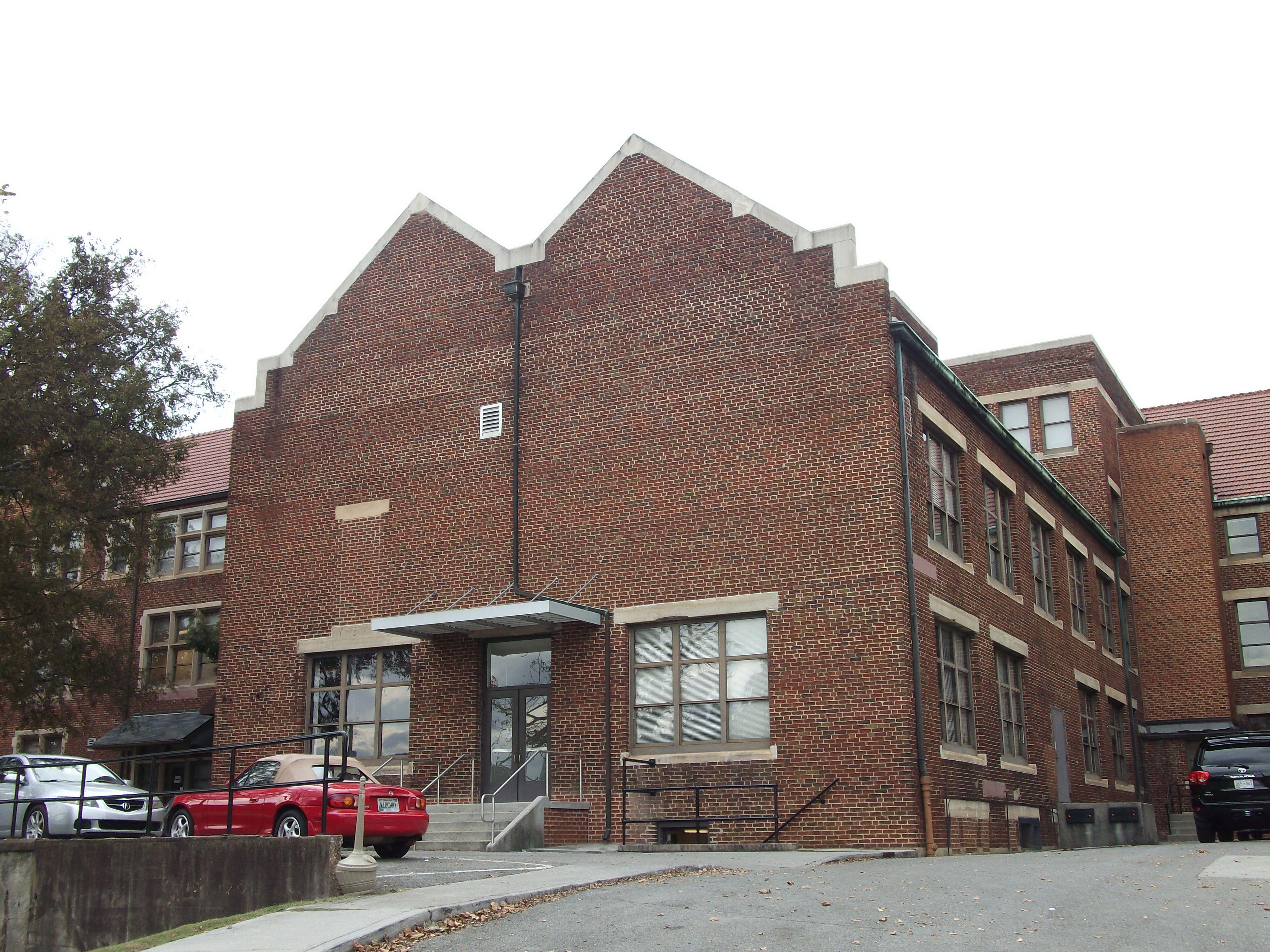 Morgan Hall, 1919, South [Rear] Facade.