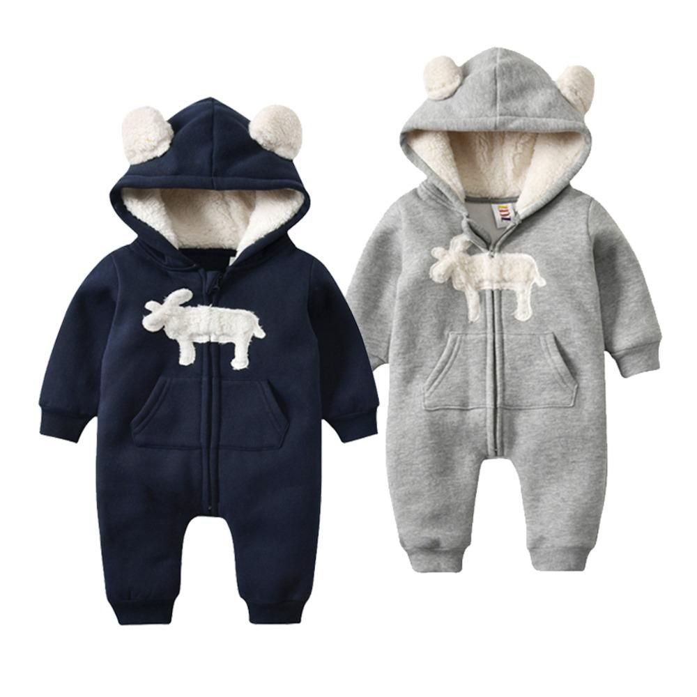 054d5064098a Morningtwo Newly Baby Clothes Romper In Autumn And Winter With 0-1 ...
