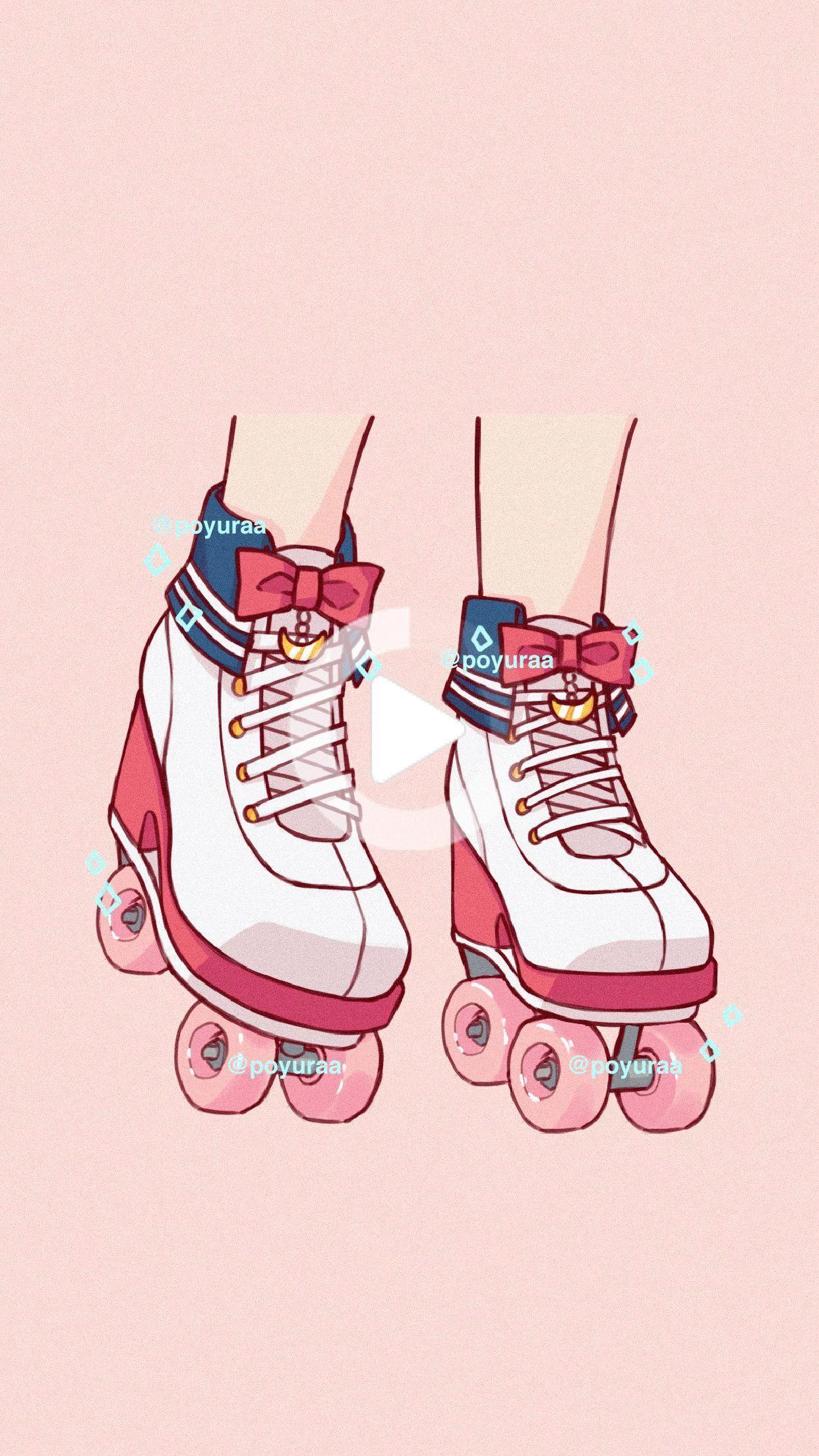 26++ soft aesthetic 90s anime aesthetic. Cute Adorable Aesthetic Anime Sailor Moon Roller Skates ...
