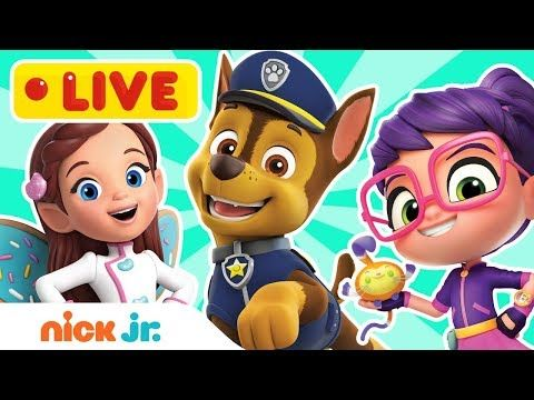 LIVE 🔴 PAW Patrol, Butterbean's Café & More! Fluffy Slime