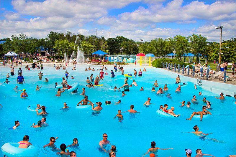 The Beach Ottumwa In Ottumwa Iowa Features A Wave Pool Speed Slide Twister Slide Lagoon Indoor Aquatic Center Tube Slid Water Park Park Indoor Waterpark