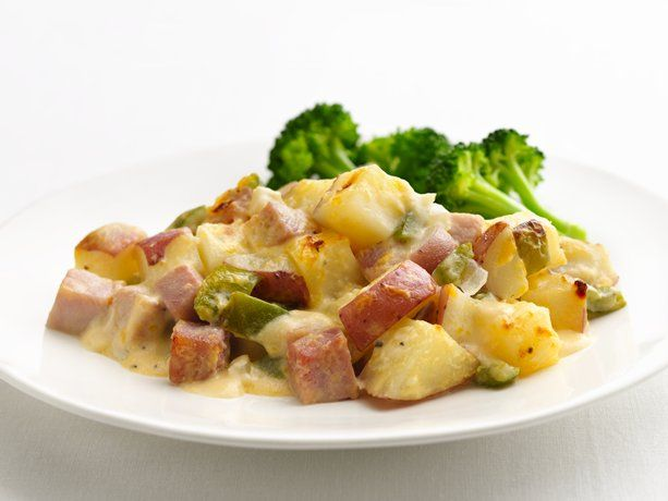 Healthified Ham and Potato Casserole, tried it tonight and it was delicious and I added asparagus