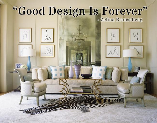 Good Design Is Forever Zelina Brunschwig
