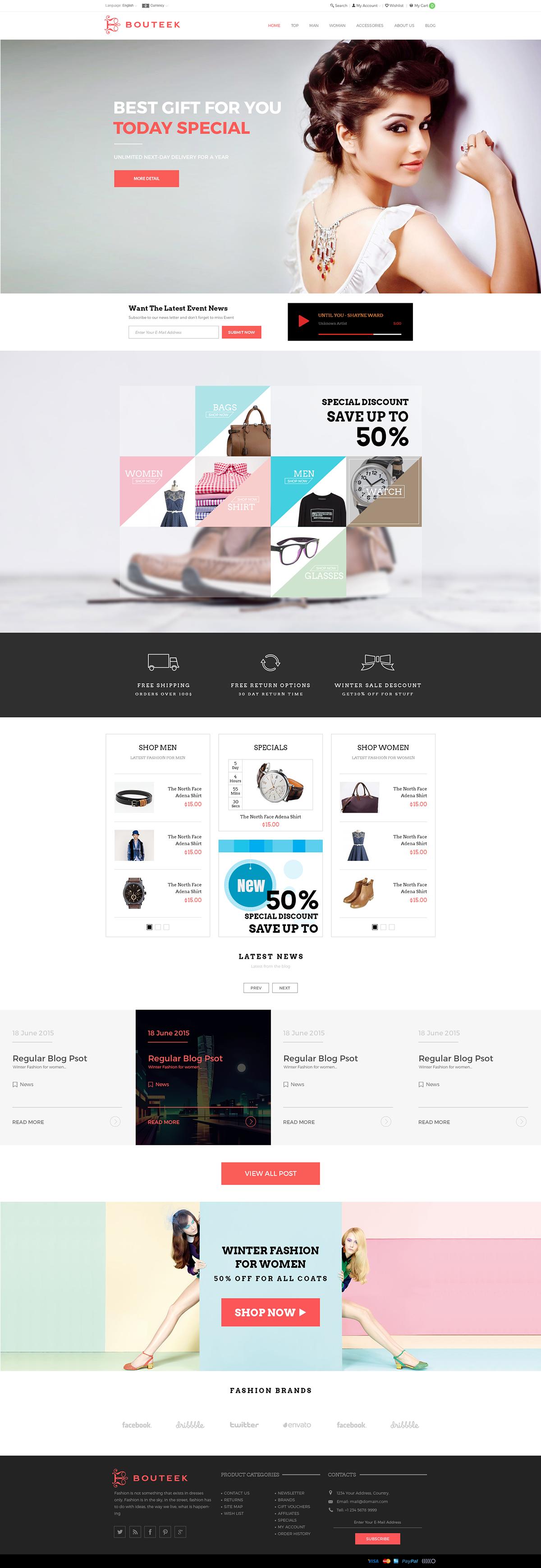 e-Commerce online fashion shop UI / UX on Behance