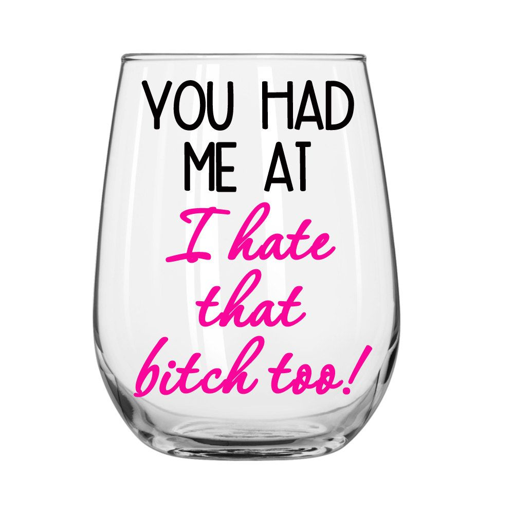 Stemless Wine Glass Personalized wine glass, Funny Wine Glass, Adult ...