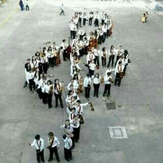 sistema nacional de orquestas y coros juvenieles e infantiles de venezuela. nucleo los teques... #ElSistemaCumple40