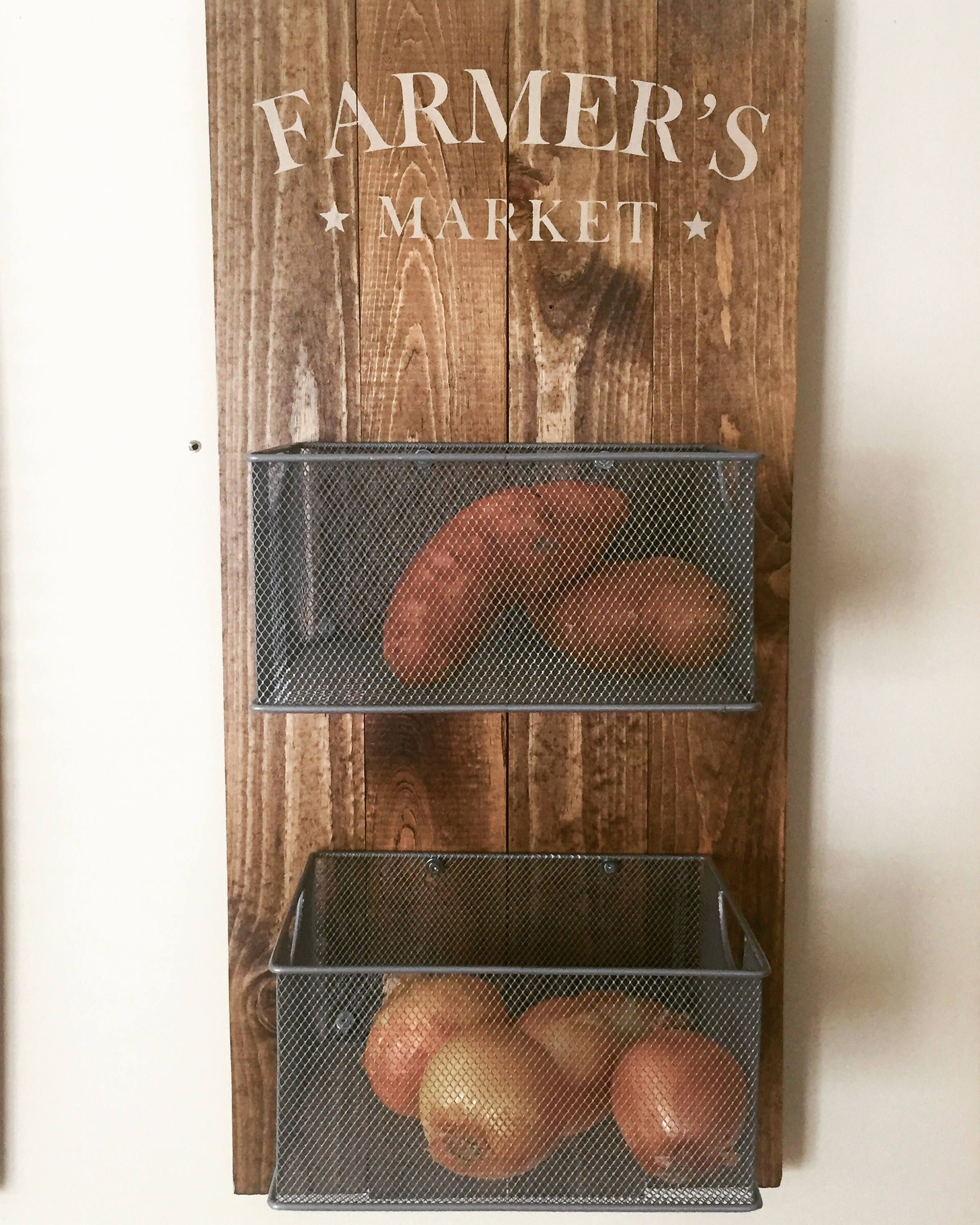 A personal favorite from my Etsy shop https://www.etsy.com/listing/534771619/farmers-market-produce-decor