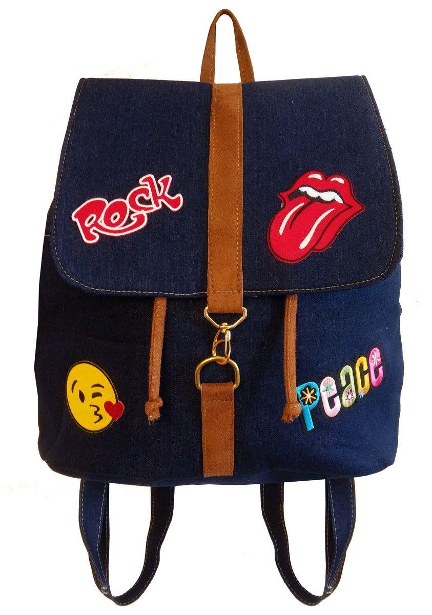 5212f03b2 Mochila Tio Dedé Bolsa mochila é perfeita para você que adora carregar tudo  na bolsa