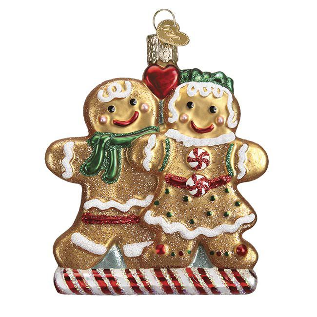 the Gingerbread Friends. Retail price $17.99! ‪#‎OWCmidyearintro2015‬ ‪#‎oldworldchristmas‬ ‪#‎12daysofChristmasinJuly‬ ‪#‎gingerbreadfriends‬ The Gingerbread Friends depicts a favorite tradition of the holiday season – baking treats! Creating elaborate and whimsical cookies that are decorated with frosting and candies started years ago and continues today as a favorite holiday activity.