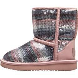 Ugg Kleinkind Mädchen Klassische Ii Sequin Rainbow Stiefel Silber Ugg Australia