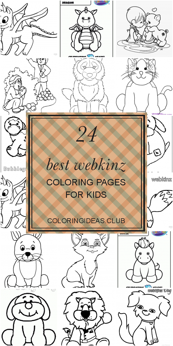 Webkinz Dog Coloring page | Dog coloring page, Cat coloring page ... | 1200x600