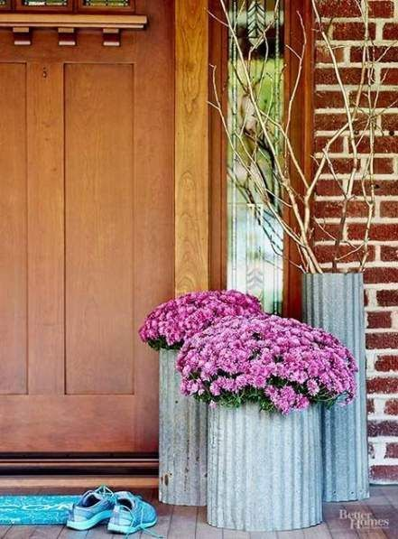 Best flowers garden in front of house porches curb appeal Ideas,  #appeal #curb #flowergarden... #frontporchideascurbappeal