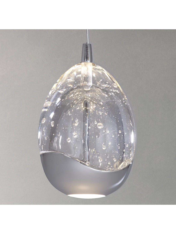 John Lewis 3 Droplet Led Pendant Ceiling Light