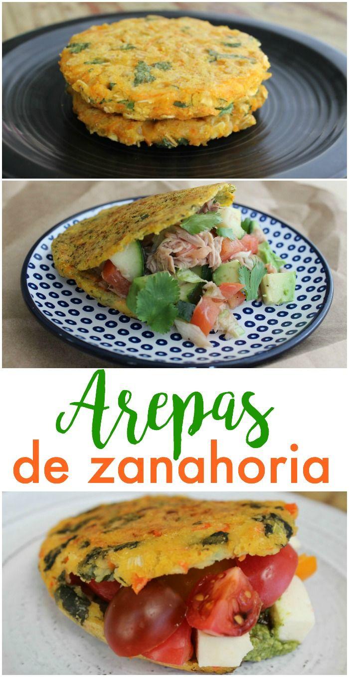 Recetas Cocina Saludables   Arepas De Zanahoria Arepas Zanahorias Y Saludable