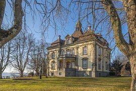 Castle, Lake Constance, Rough Stone