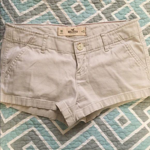 Hollister Shorts Tan shorts Hollister Shorts Jean Shorts