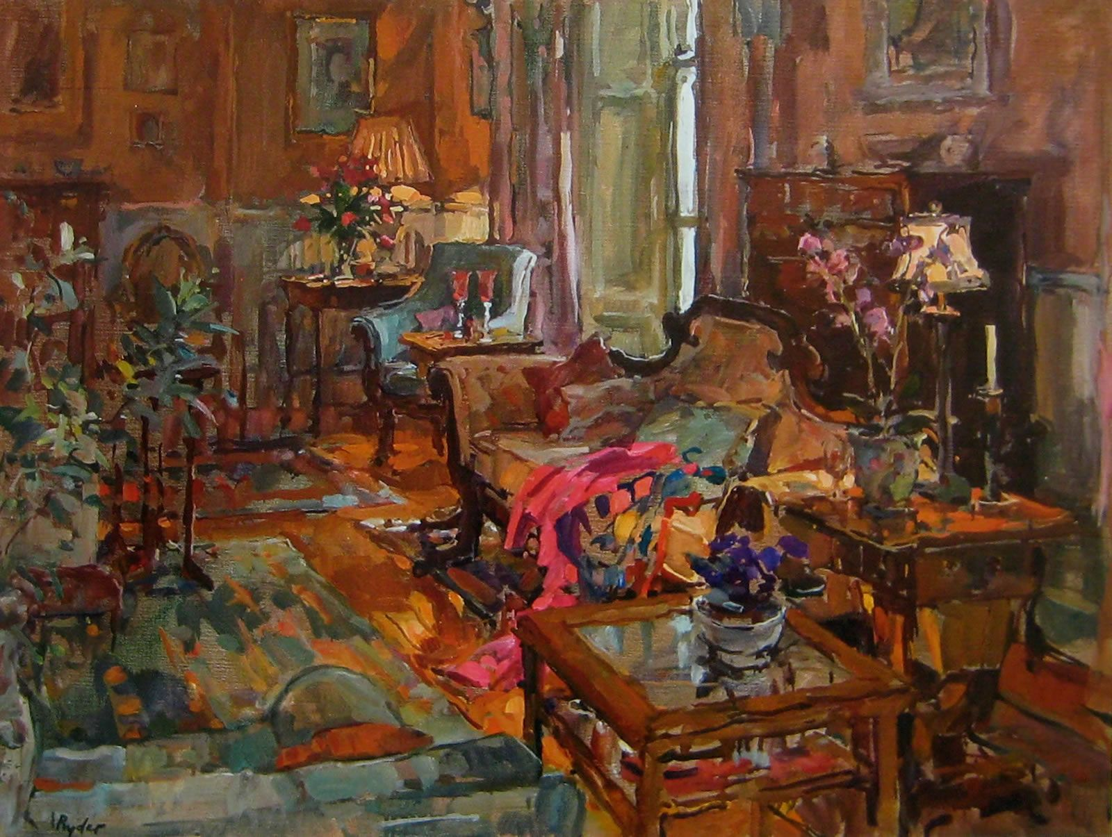 Home Interiors Mississauga Susan Ryder Rp Neac Artist And Painter Interiors And