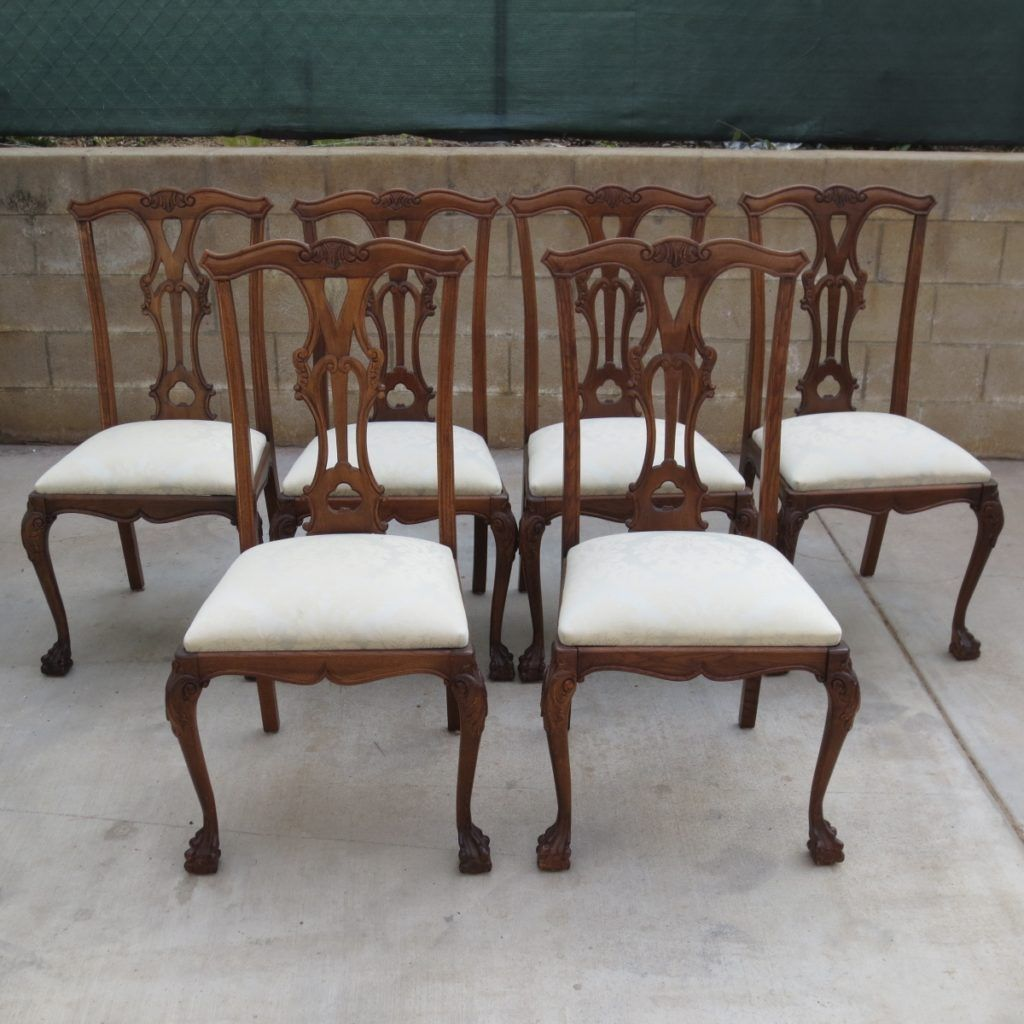 Antique Chippendale Dining Room Furniture - Antique Chippendale Dining Room Furniture Period Furniture