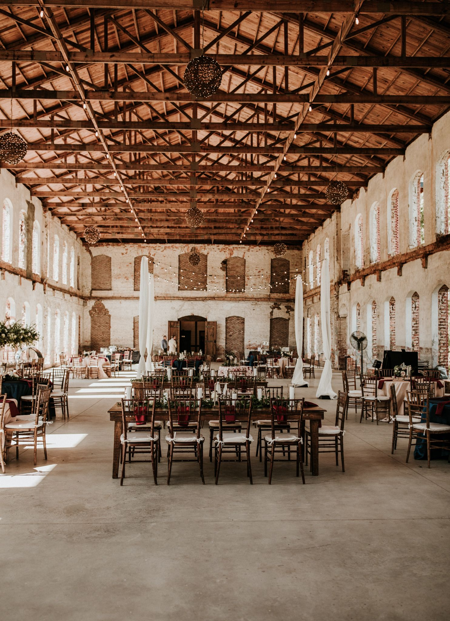 Providence Cotton Mill Wedding Reception In 2020 Classic Wedding Inspiration Cotton Mill Wedding Summer Wedding Colors