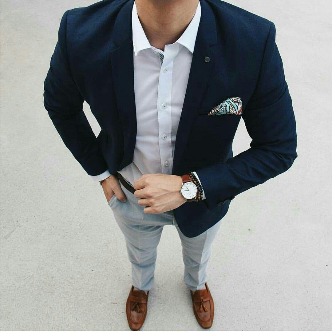 Resultado de imagen para traje casual hombre