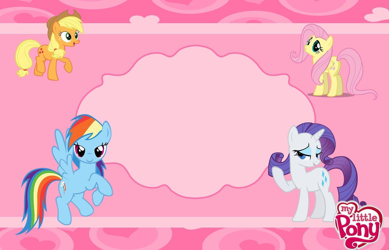 Kit De Aniversario My Little Pony