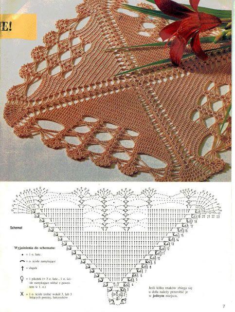 Panos de crochê 1 - solange- crochê e tricô - Picasa Albums Web