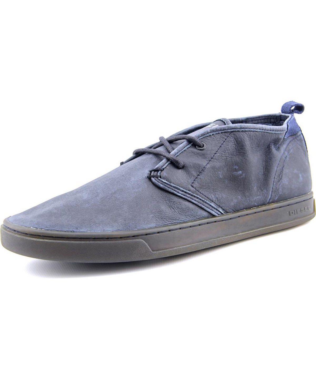 DIESEL DIESEL PRIMETICERS SNOO-ZEE MEN  ROUND TOE LEATHER  OXFORD'. #diesel #shoes #oxfords