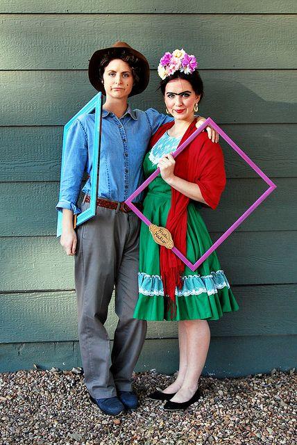 Frida kahlo and diego rivera halloween costume blog pinterest d guisements et mexique - Deguisement frida kahlo ...