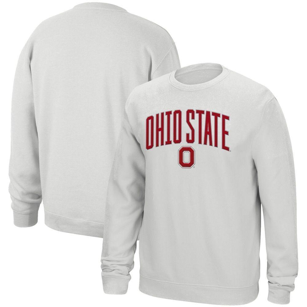 Men S White Ohio State Buckeyes Modern Arch Sweatshirt Size Xl Ohiostatebuckeyes Men S White Ohio State Buckeyes Ohio State Sweatshirts Ohio State Buckeyes [ 1000 x 1000 Pixel ]