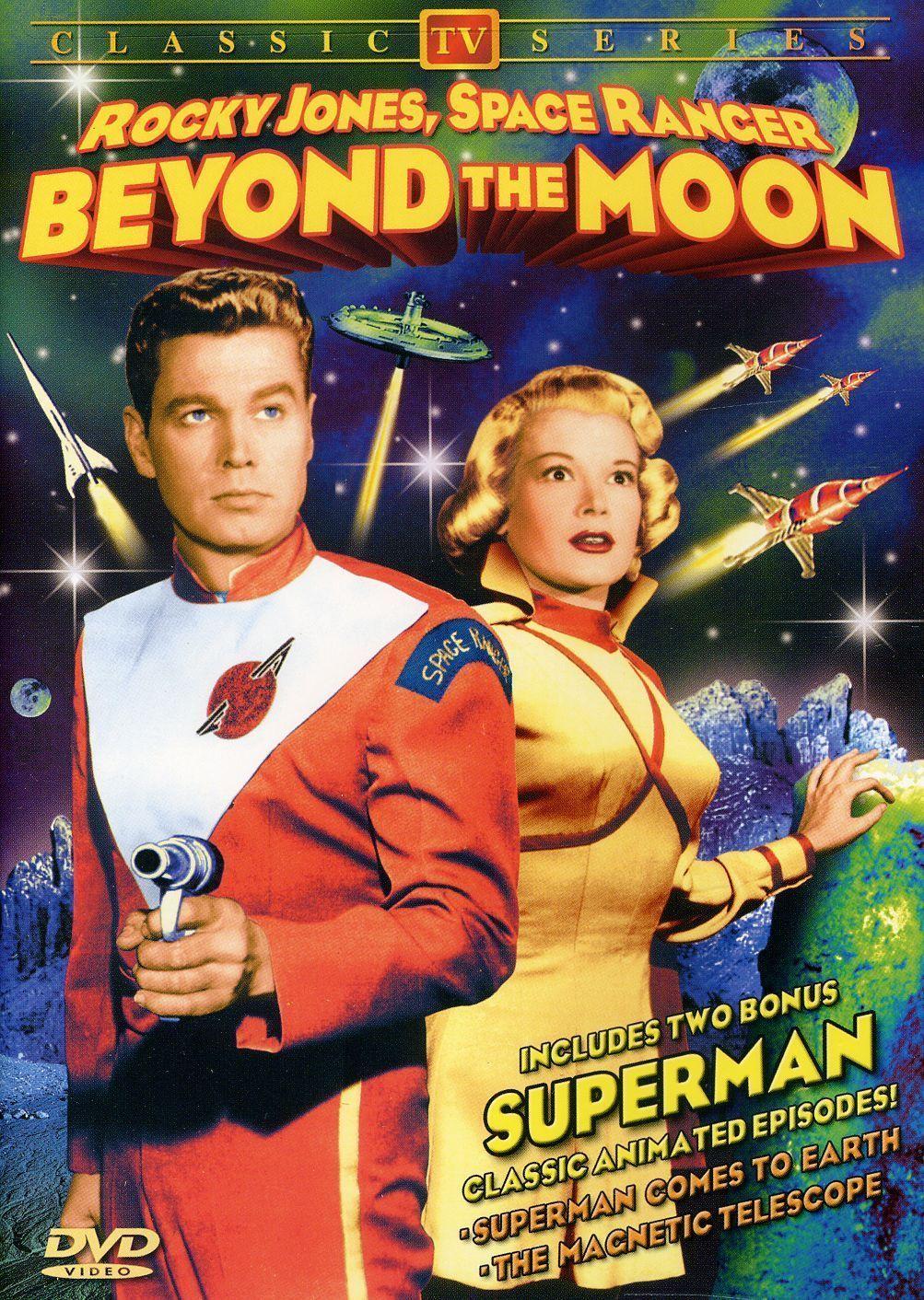 Rocky Jones Space Ranger 1954 Dvd Science Fiction Space