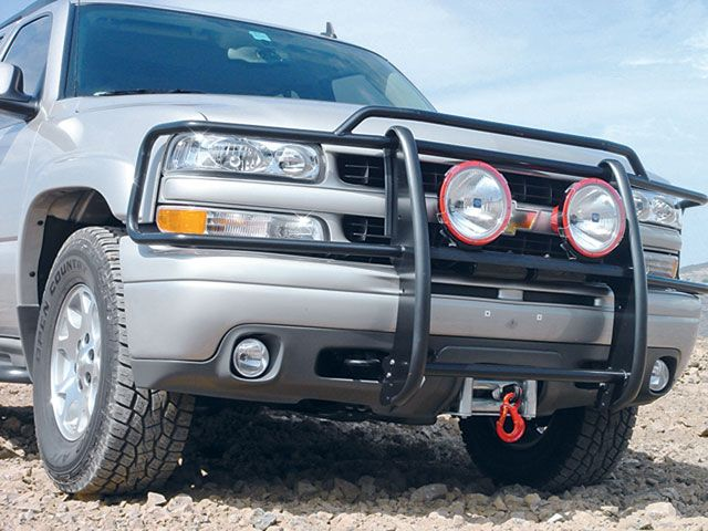 Hidden Winch - Chevy Tahoe Forum | GMC Yukon Forum | Tahoe Z71
