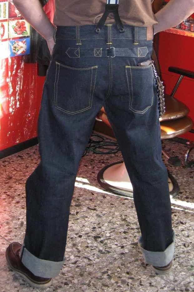Pike Pant Brothers WoodworkerDenim Chopper 1936 SGUVpzMq