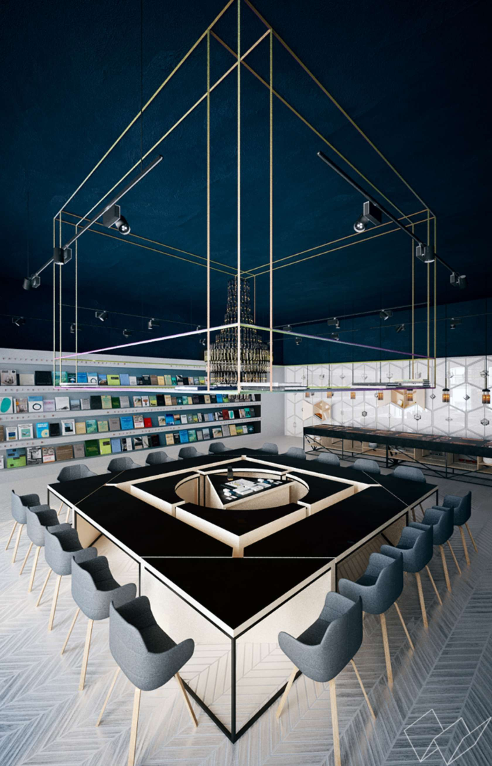 Science Café-Library - Wigandt | Interiors | Pinterest