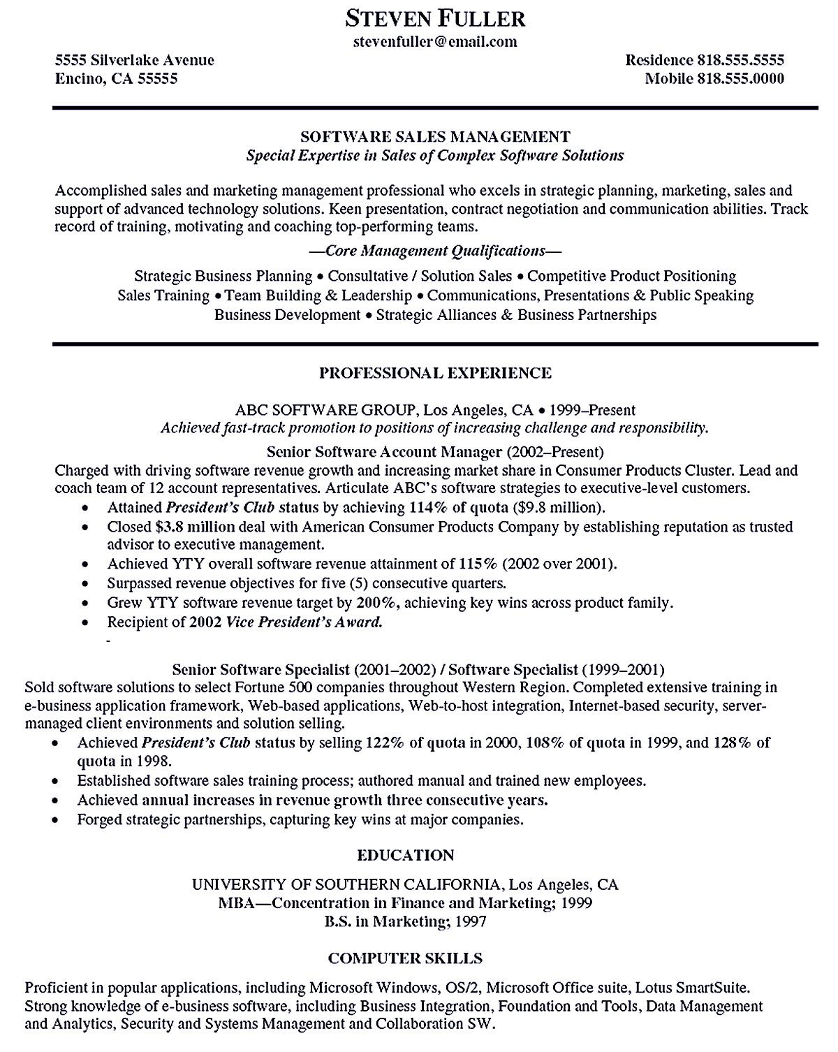 account manager resume shows your professionalism in the