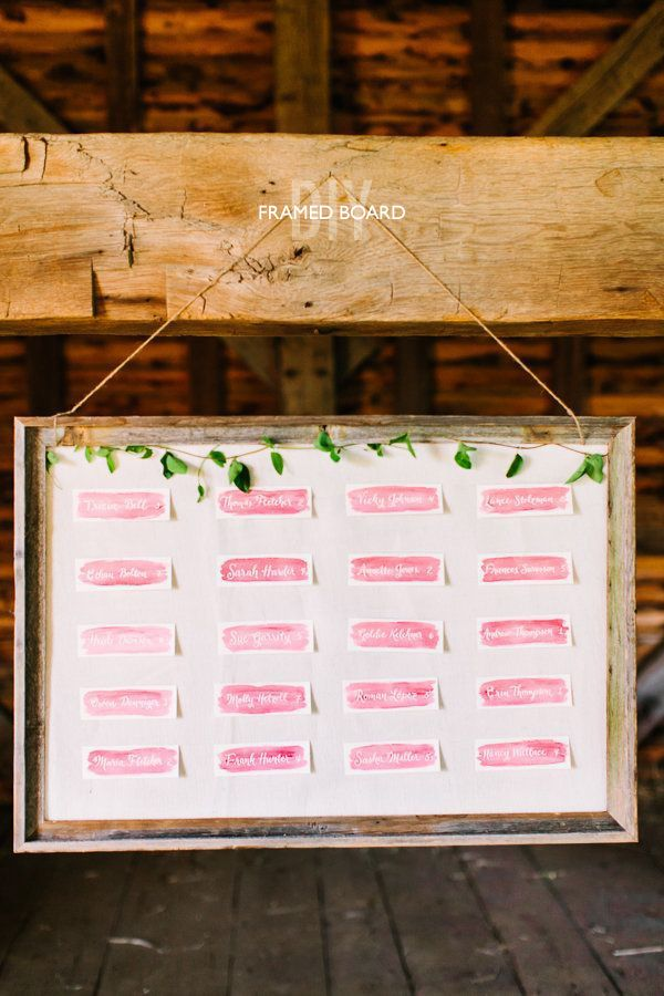 Pin On Escort Place Card Ideas