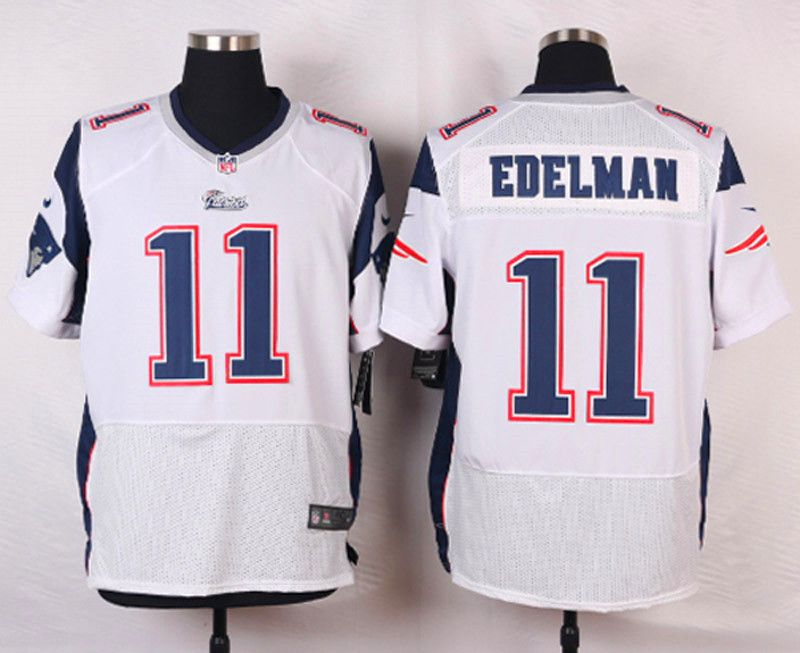 b1adf577931 New England Patriots Drew Bledsoe White Retired Player NFL Nike Elite Men's…