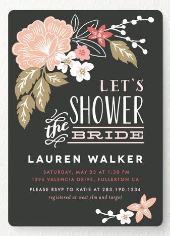 Bridal Shower Invitations on Pinterest | Invitation Cards, Invitation…