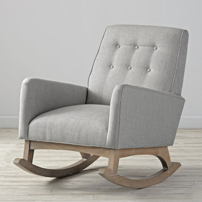 Everly Rocking Chair + Reviews | Crate and Barrel