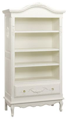 AFK Art for Kids Furniture Tall Bookcase Shown in Antico White - traditional - toy storage  sc 1 st  Pinterest & AFK Art for Kids Furniture Tall Bookcase Shown in Antico White ...