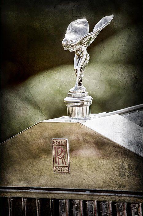 1930 Rolls-royce Phantom I Transformal Phaeton Hood Ornament - Emblem by Jill Reger