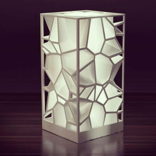 3d Printed Lamp By Markellov 3dprint 3dprinting 3dprinting 3d打印 3d列印 Decor Decorative Decoration Art Artwork Lamp Productd In 2020 Lamp Design 3d Printing Diy 3d Printing