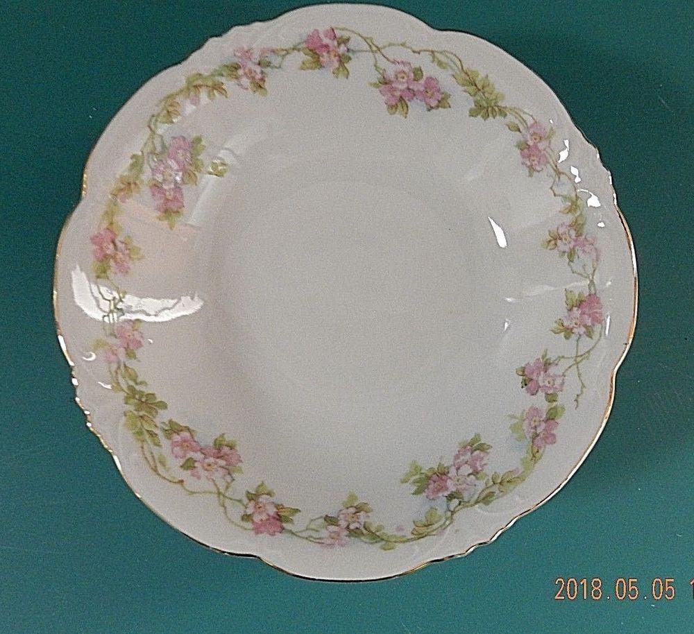 Habsburg Austria China Mz Rose Garland Small Bowl 525 In Diameter
