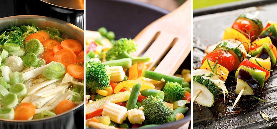 Guía práctica para cocinar verduras correctamente. Aprende cómo cocinar todo tipo de verduras para que te queden deliciosas y en su punto.