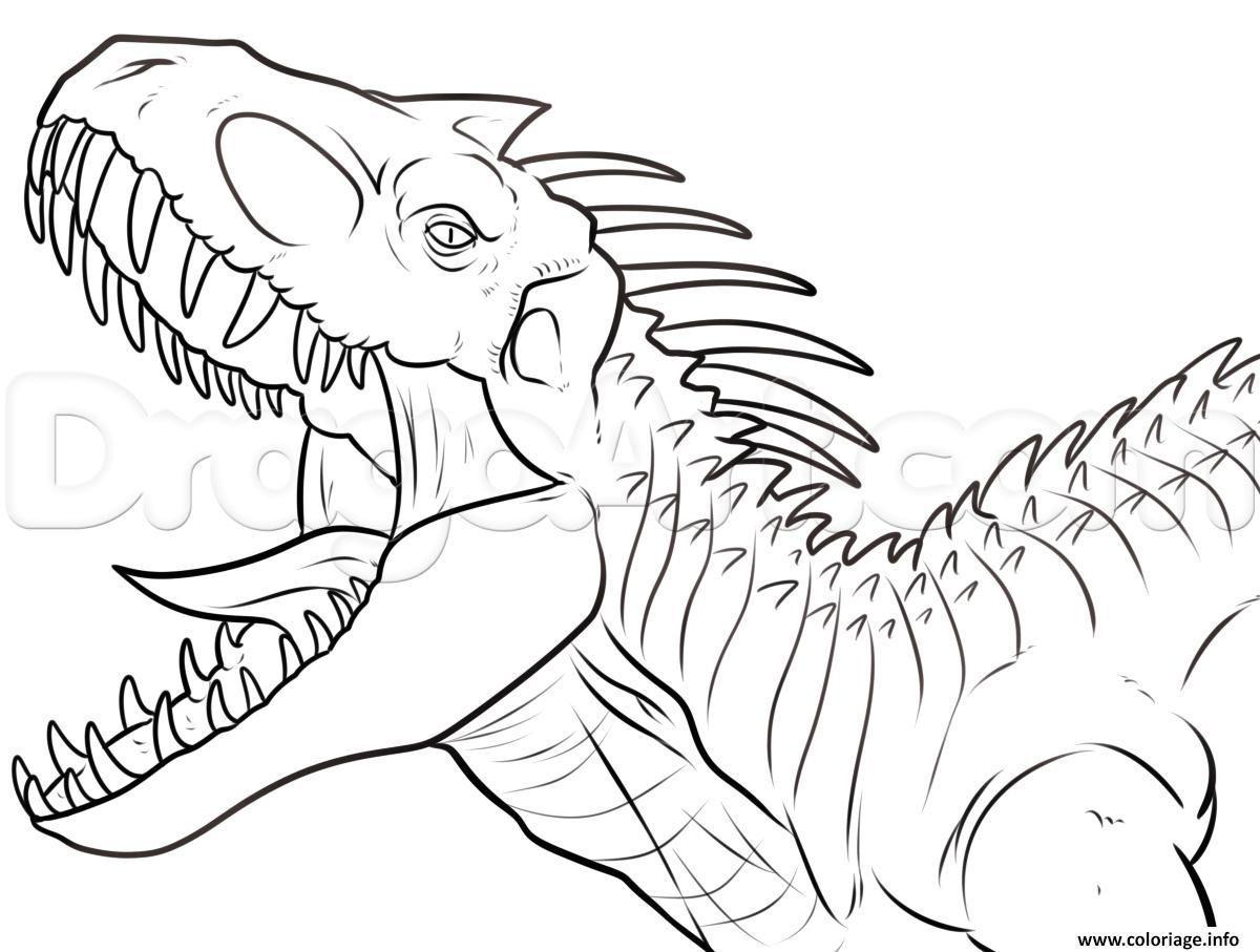 Giganotosaurus Ausmalbild